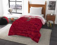 Tampa Bay Buccaneers Anthem Twin Comforter