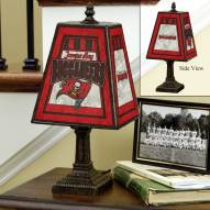Tampa Bay Buccaneers Art Glass Table Lamp