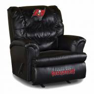 Tampa Bay Buccaneers Big Daddy Leather Recliner