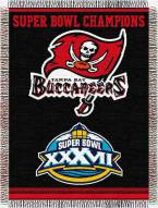 Tampa Bay Buccaneers Commemorative Throw Blanket