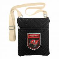 Tampa Bay Buccaneers Crest Chevron Crossbody Bag