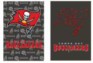 Tampa Bay Buccaneers Double Sided Glitter Flag