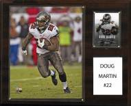 "Tampa Bay Buccaneers Doug Martin 12"" x 15"" Player Plaque"