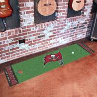 Tampa Bay Buccaneers Golf Putting Green Mat