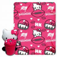 Tampa Bay Buccaneers Hello Kitty Blanket & Pillow
