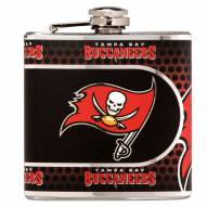 Tampa Bay Buccaneers Hi-Def Stainless Steel Flask