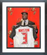 Tampa Bay Buccaneers Jameis Winston 2015 Press Conference Framed Photo