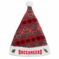 Tampa Bay Buccaneers Knit Santa Hat