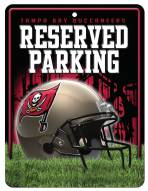 Tampa Bay Buccaneers Metal Parking Sign