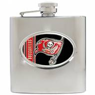 Tampa Bay Buccaneers NFL 6 Oz. Stainless Steel Hip Flask