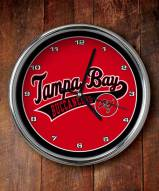 Tampa Bay Buccaneers NFL Chrome Wall Clock