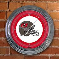 Tampa Bay Buccaneers NFL Neon Wall Clock