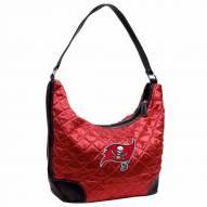 Tampa Bay Buccaneers NFL Quilted Hobo Handbag