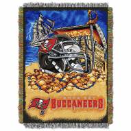 Tampa Bay Buccaneers NFL Woven Tapestry Throw