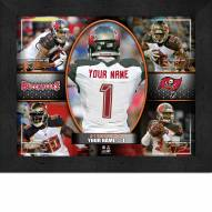Tampa Bay Buccaneers Personalized Framed Action Collage