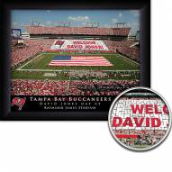 Tampa Bay Buccaneers Personalized Framed Stadium Print