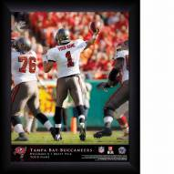 Tampa Bay Buccaneers Personalized NFL Action QB Framed Print