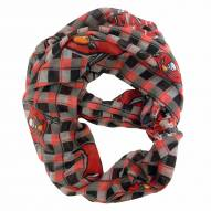 Tampa Bay Buccaneers Plaid Sheer Infinity Scarf