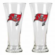 Tampa Bay Buccaneers Premiere Pilsner Glass Set