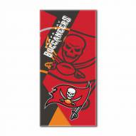 Tampa Bay Buccaneers Puzzle Beach Towel