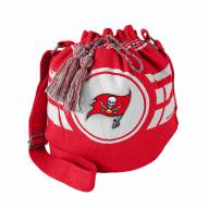 Tampa Bay Buccaneers Ripple Drawstring Bucket Bag