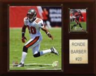 """Tampa Bay Buccaneers Ronde Barber 12 x 15"""" Player Plaque"""