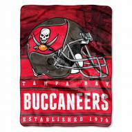 Tampa Bay Buccaneers Silk Touch Stacked Blanket