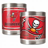 Tampa Bay Buccaneers Stainless Steel Hi-Def Coozie Set