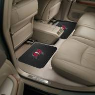 Tampa Bay Buccaneers Vinyl 2-Piece Rear Floor Mats