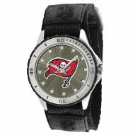 Tampa Bay Buccanneers Veteran Velcro Mens Watch