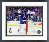 Tampa Bay Lightning Ben Bishop 2014-15 Playoff Framed Photo