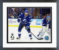 Tampa Bay Lightning Cedric Paquette 2014-15 Playoff Action Framed Photo