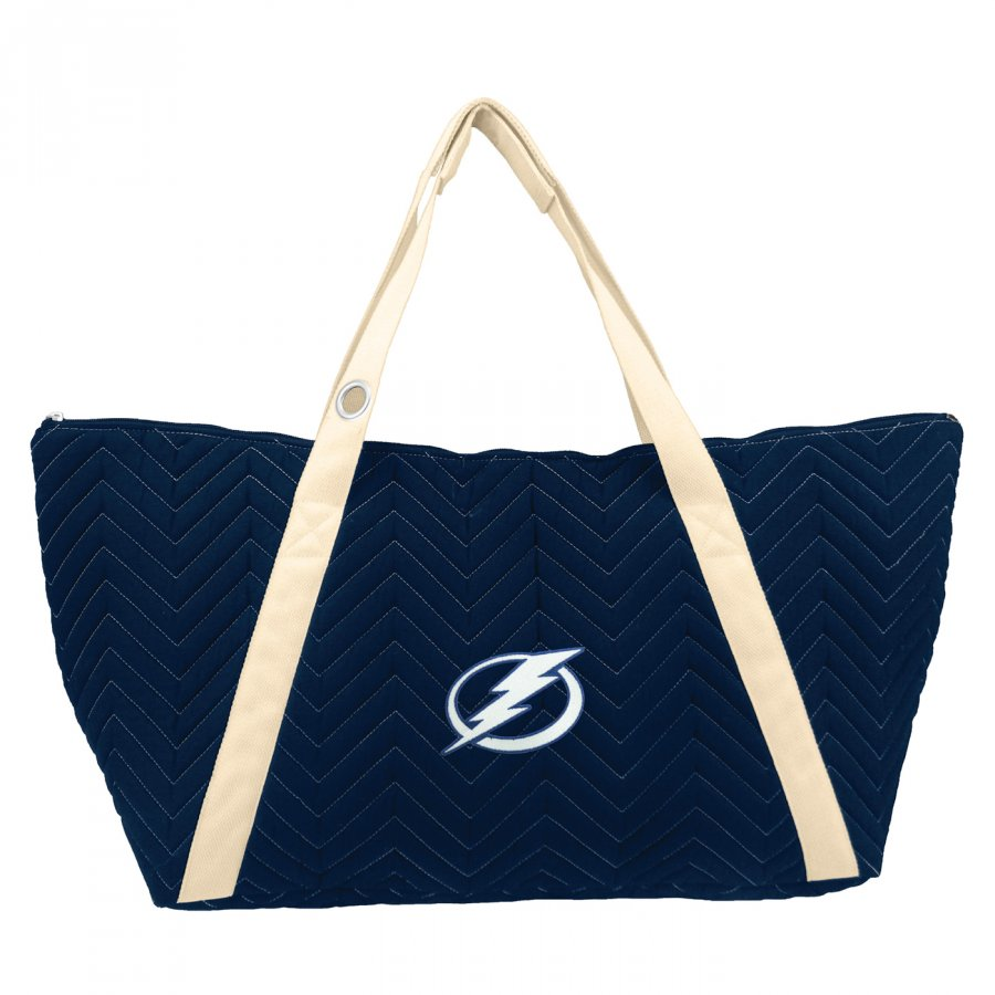 Tampa Bay Lightning Chevron Stitch Weekender Bag