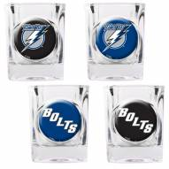 Tampa Bay Lightning Collector's Shot Glass Set