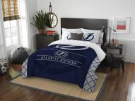 Tampa Bay Lightning Draft Full/Queen Comforter Set