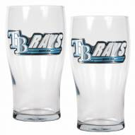 Tampa Bay Rays 20 oz. Pub Glass - Set of 2