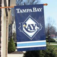Tampa Bay Rays Appliqué 2-Sided Banner Flag