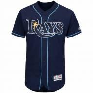 Tampa Bay Rays Authentic Navy Alternate Baseball Jersey