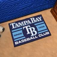 Tampa Bay Rays Baseball Club Starter Rug