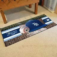 Tampa Bay Rays Baseball Runner Rug
