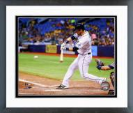 Tampa Bay Rays Ben Zobrist 2014 Action Framed Photo