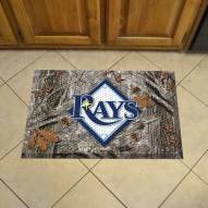 Tampa Bay Rays Camo Scraper Door Mat