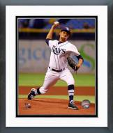 Tampa Bay Rays Chris Archer 2014 Action Framed Photo