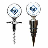 Tampa Bay Rays Cork Screw & Wine Bottle Topper Set