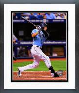 Tampa Bay Rays David DeJesus 2014 Action Framed Photo
