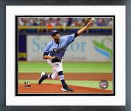 Tampa Bay Rays David Price 2014 Action Framed Photo