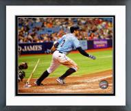 Tampa Bay Rays Evan Longoria 2014 Action Framed Photo