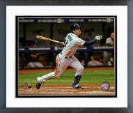 Tampa Bay Rays Evan Longoria 2015 Action Framed Photo