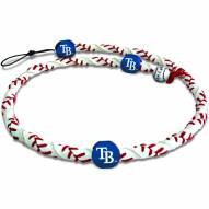 Tampa Bay Rays Frozen Rope Baseball Necklace