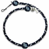 Tampa Bay Rays Frozen Rope Color Baseball Necklace